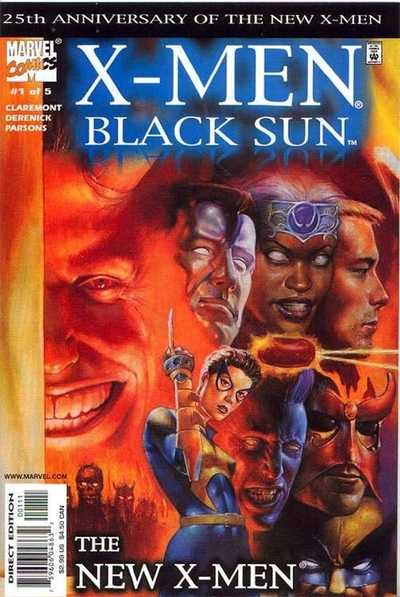 X-Men Black Sun (2000) Complete Bundle - Used