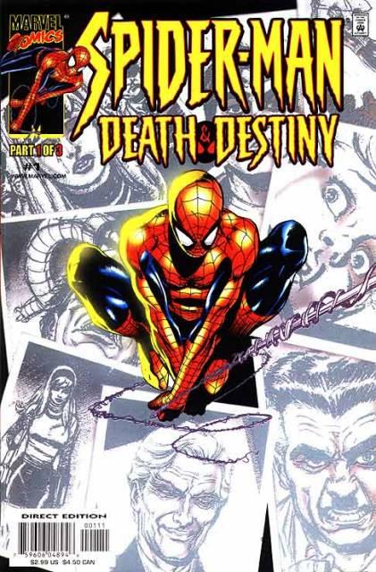 Spider-Man Death and Destiny (2000) Complete Bundle - Used