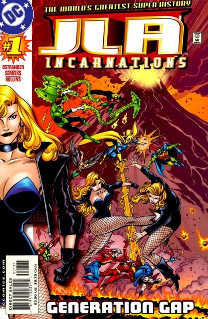 JLA Incarnations (2001) Complete Bundle - Used
