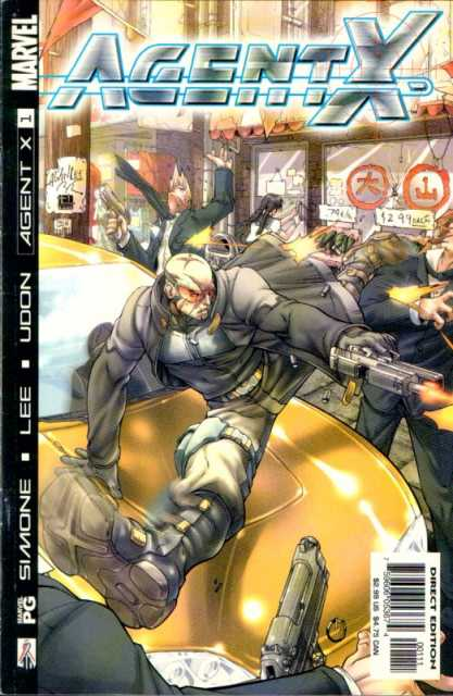Agent X (2002) no. 1 - Used
