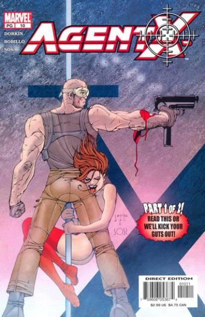 Agent X (2002) no. 10 - Used