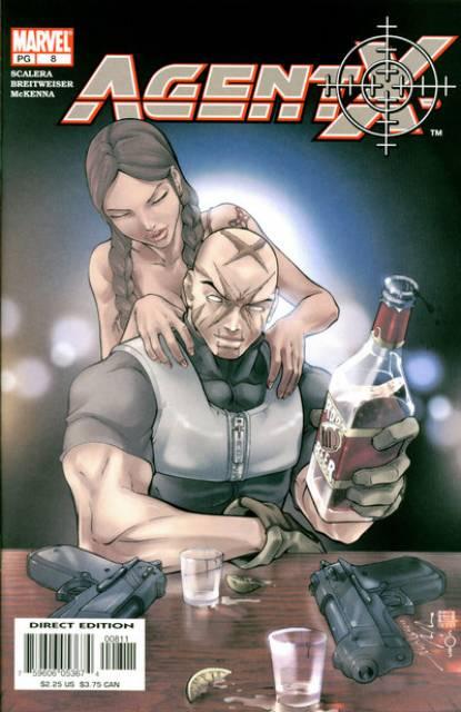 Agent X (2002) no. 8 - Used
