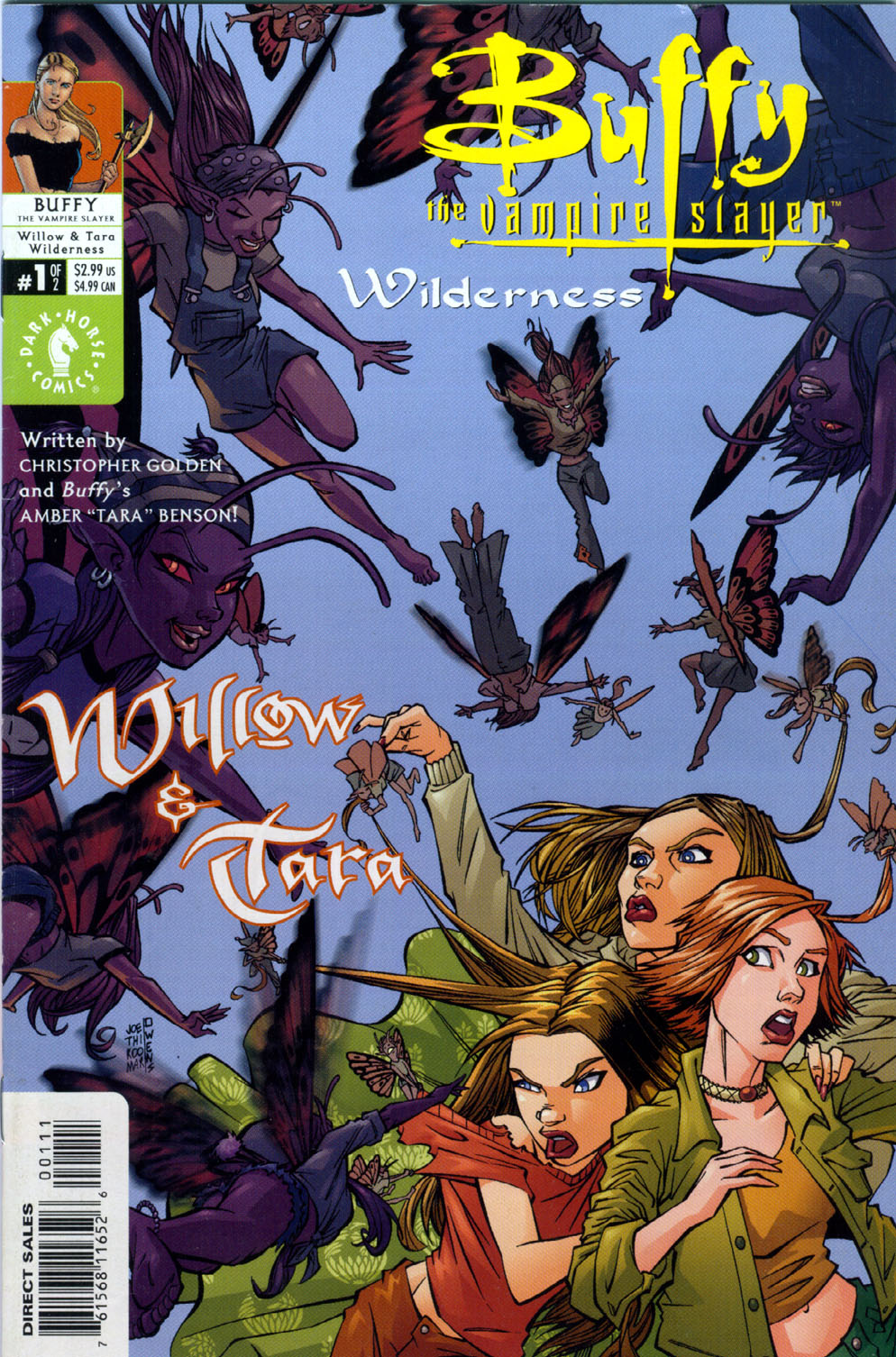 Buffy the Vampire Slayer: Willow and Tara the Wilderness (2002) Complete Bundle - Used