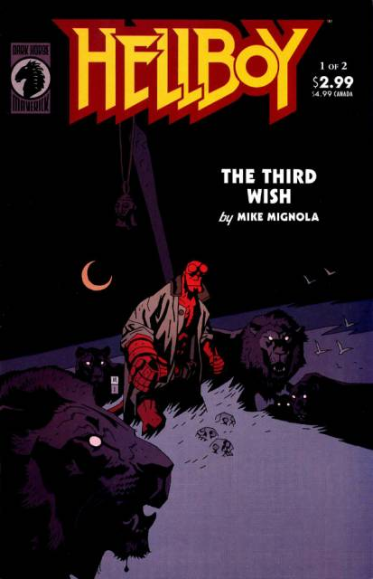 Hellboy the Third Wish (2002) Complete Bundle - Used