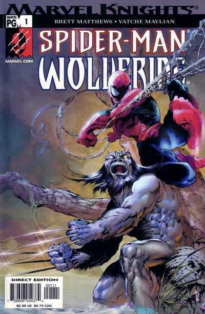 Spider-Man Wolverine (2003) Complete Bundle - Used