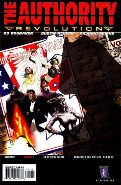 Authority Revolution (2004) Complete Bundle - Used