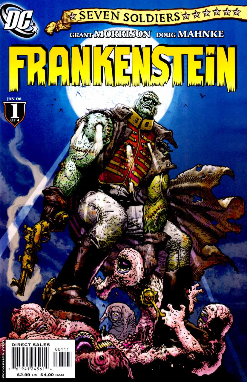 Seven Soldiers Frankenstein (2005) Complete Bundle - Used