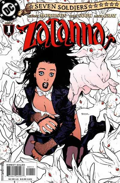 Seven Soldiers Zatanna (2005) Complete Bundle - Used
