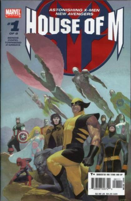 House of M (2005) Complete Bundle - Used