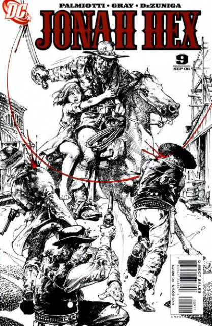 Jonah Hex (2005) no. 9 - Used