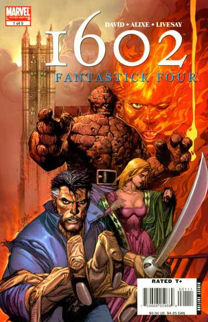 Marvel 1602 Fantastick Four (2006) Complete Bundle - Used