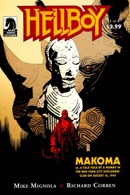 Hellboy Makoma (2006) Complete Bundle - Used