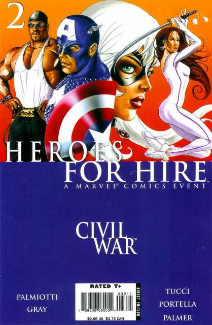 Heroes For Hire (2006) no. 2 - Used