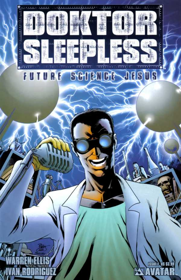 Doktor Sleepless (2007) no. 1 - Used
