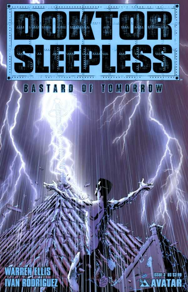 Doktor Sleepless (2007) no. 3 - Used