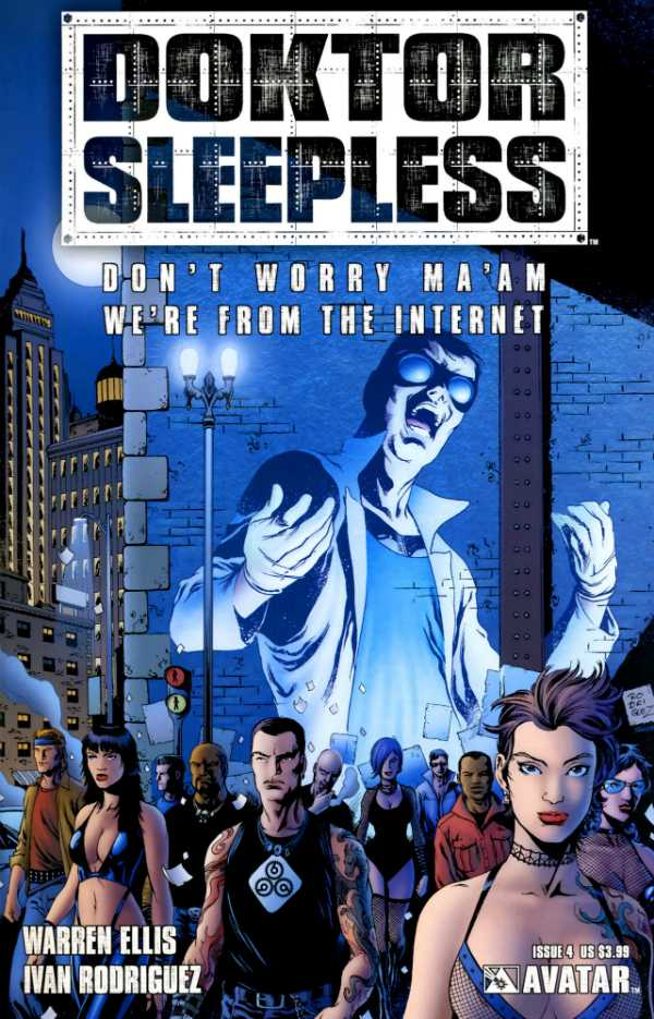 Doktor Sleepless (2007) no. 4 - Used