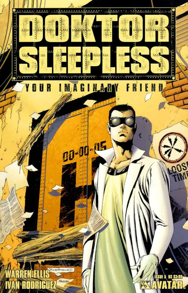 Doktor Sleepless (2007) no. 5 - Used