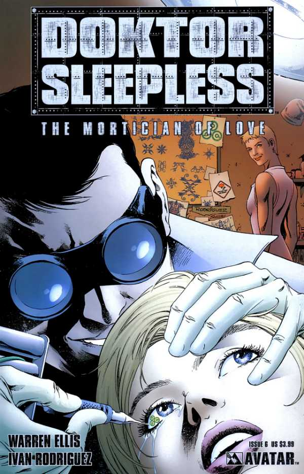 Doktor Sleepless (2007) no. 6 - Used