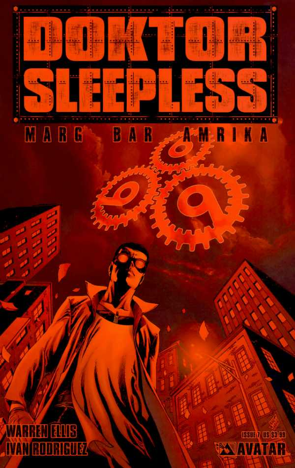 Doktor Sleepless (2007) no. 7 - Used