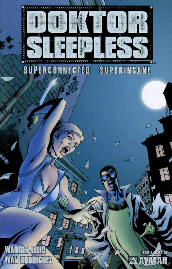 Doktor Sleepless (2007) no. 8 - Used