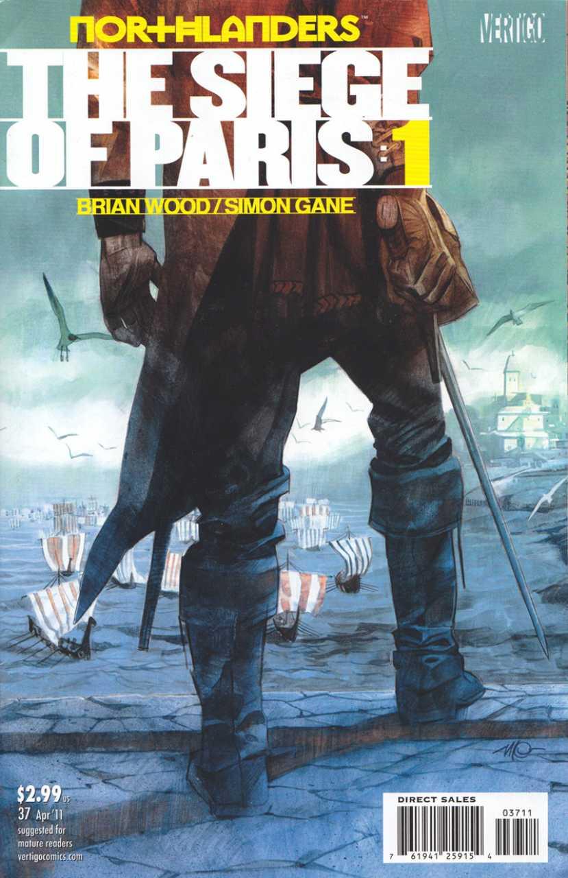 Northlanders (2007) no. 37 - Used