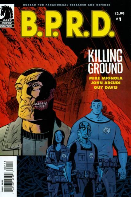 BPRD Killing Ground (2007) Complete Bundle - Used