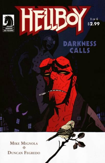 Hellboy Darkness Calls (2007) Complete Bundle - Used