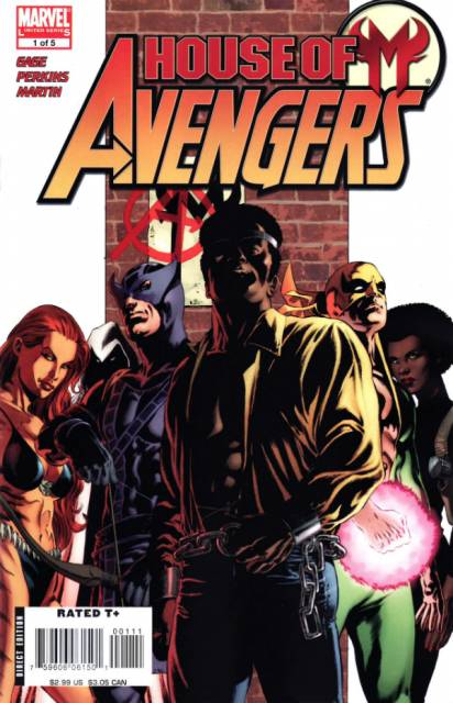 House of M: Avengers (2007) Complete Bundle - Used