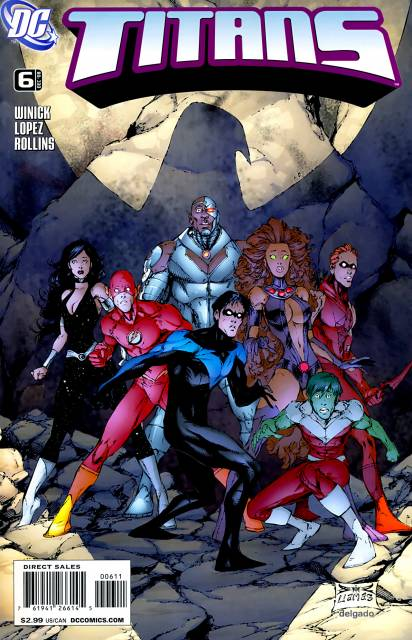 Titans (2008) no. 6 - Used
