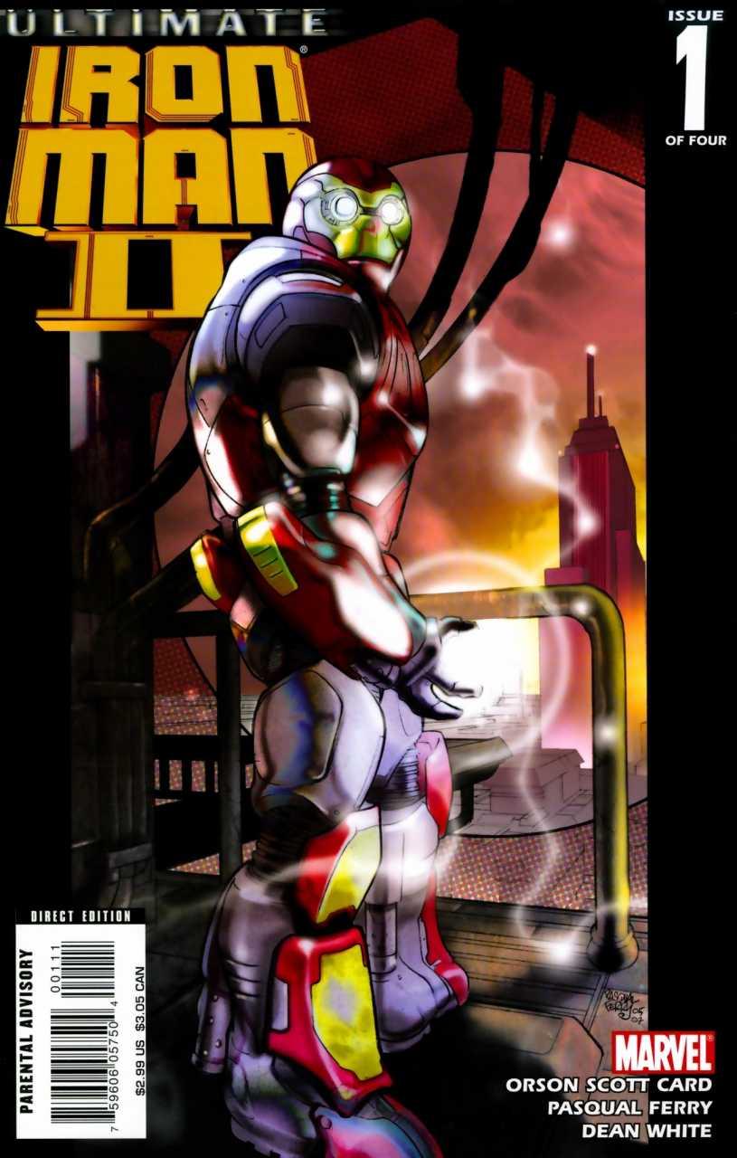 Ultimate Iron Man II (2007) Complete Bundle - Used