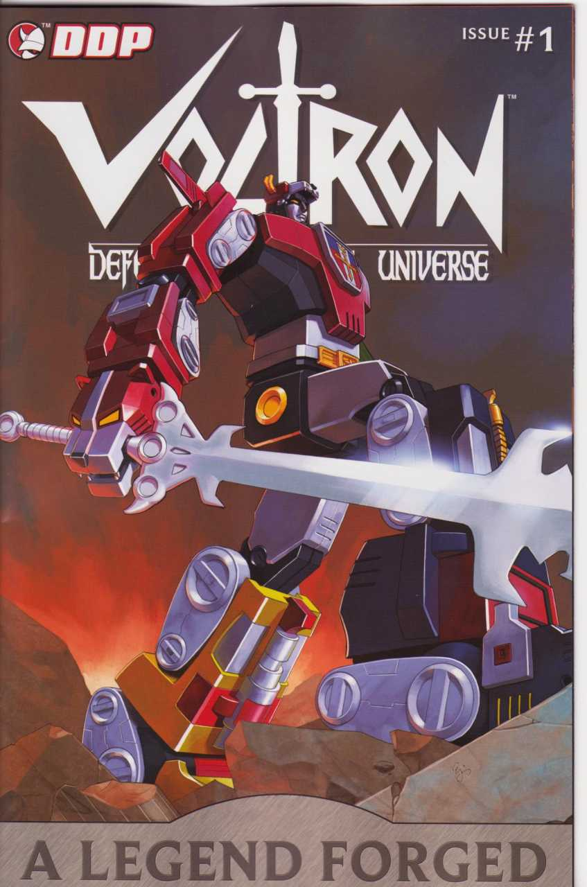 Voltron a Legend is Forged (2008) Complete Bundle - Used