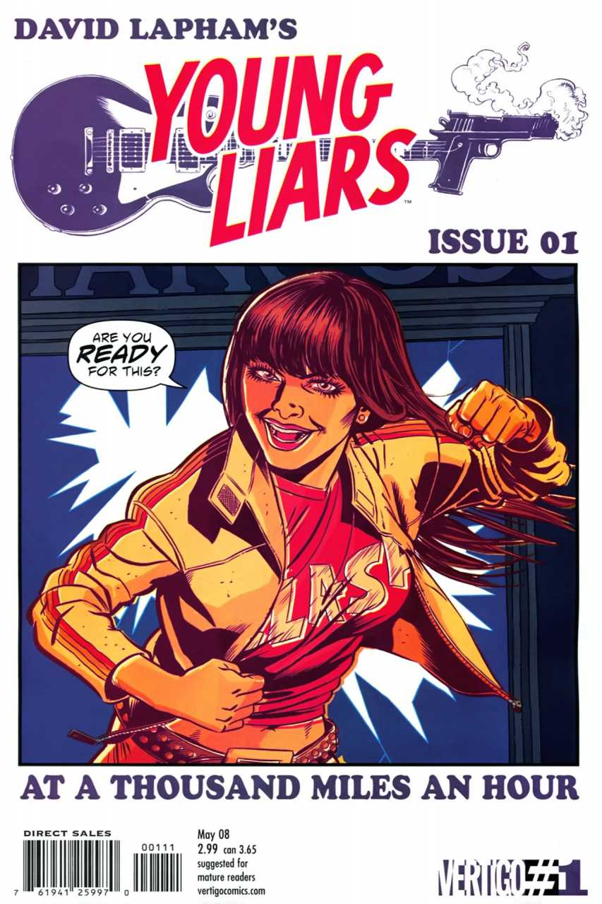 Young Liars (2008) no. 1 - Used