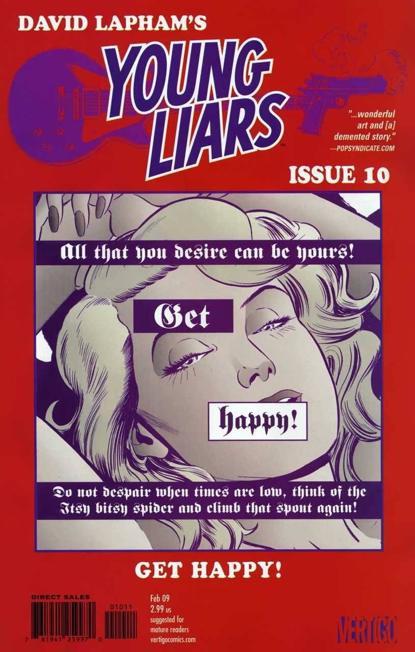Young Liars (2008) no. 10 - Used