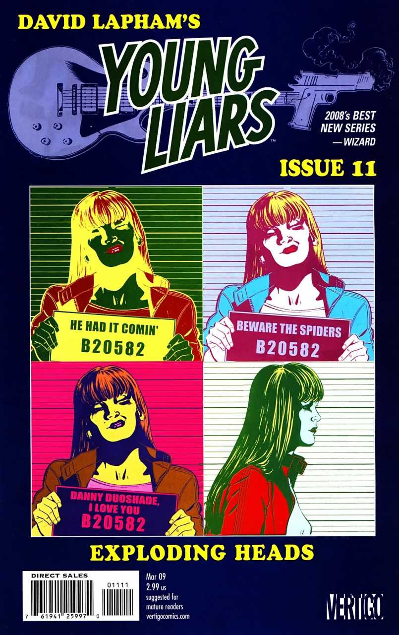 Young Liars (2008) no. 11 - Used