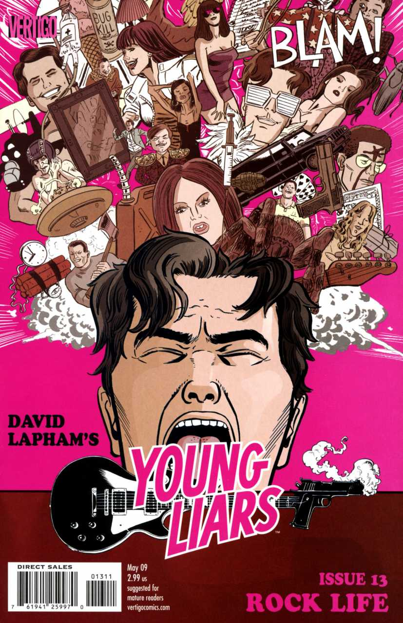 Young Liars (2008) no. 13 - Used