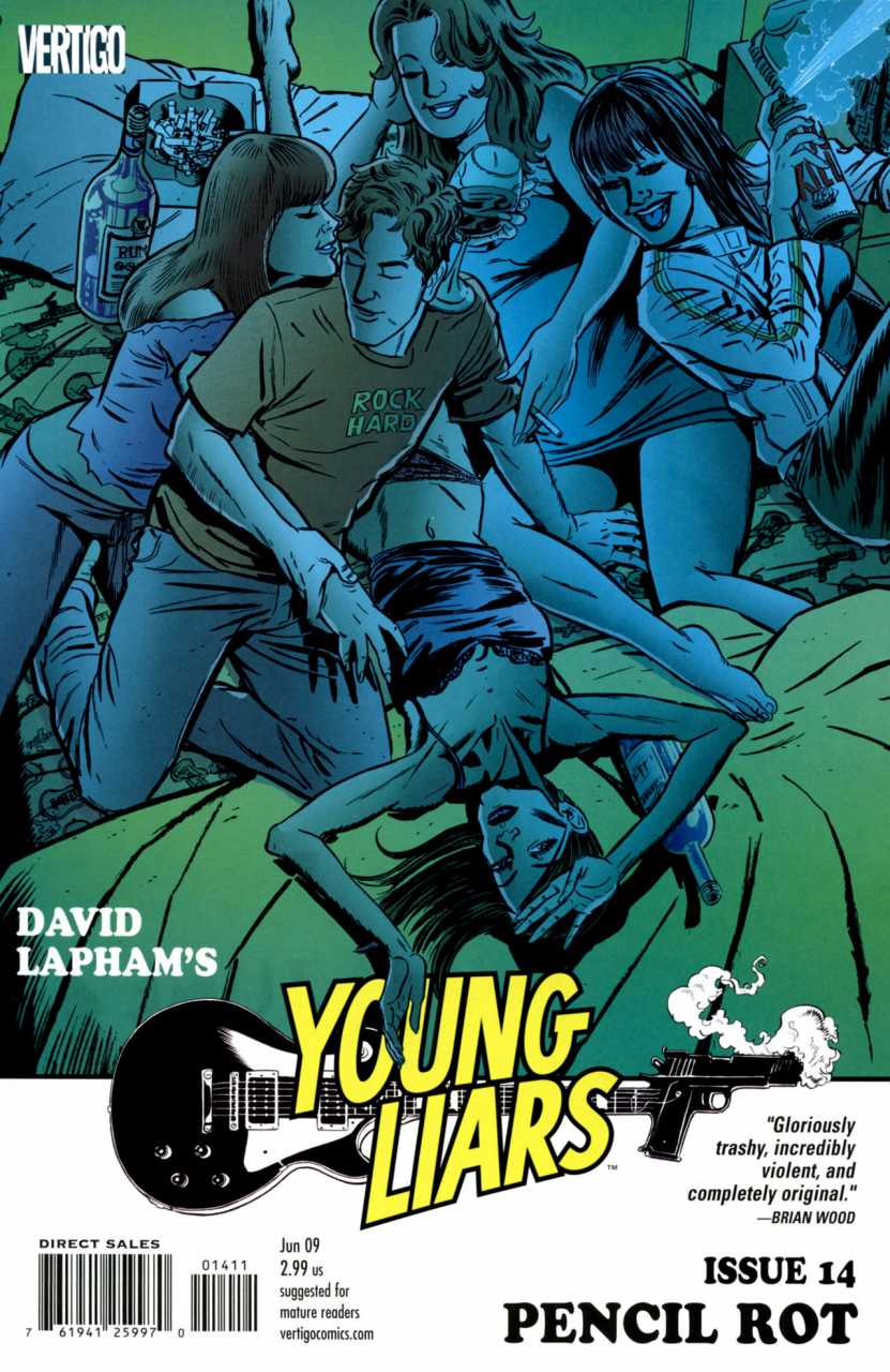 Young Liars (2008) no. 14 - Used
