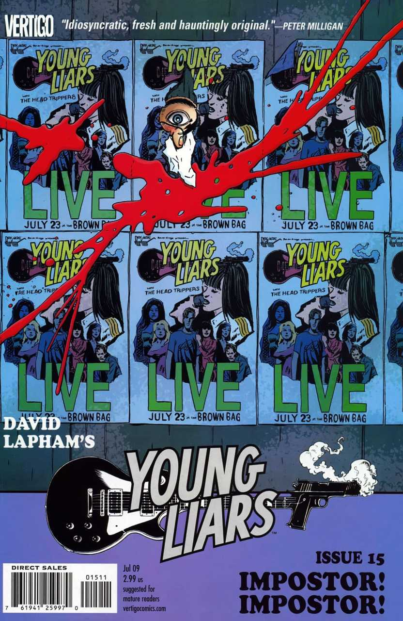 Young Liars (2008) no. 15 - Used