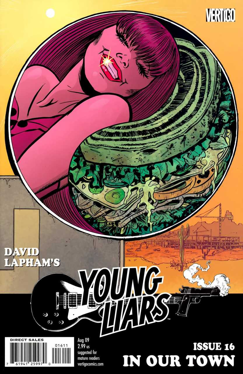 Young Liars (2008) no. 16 - Used