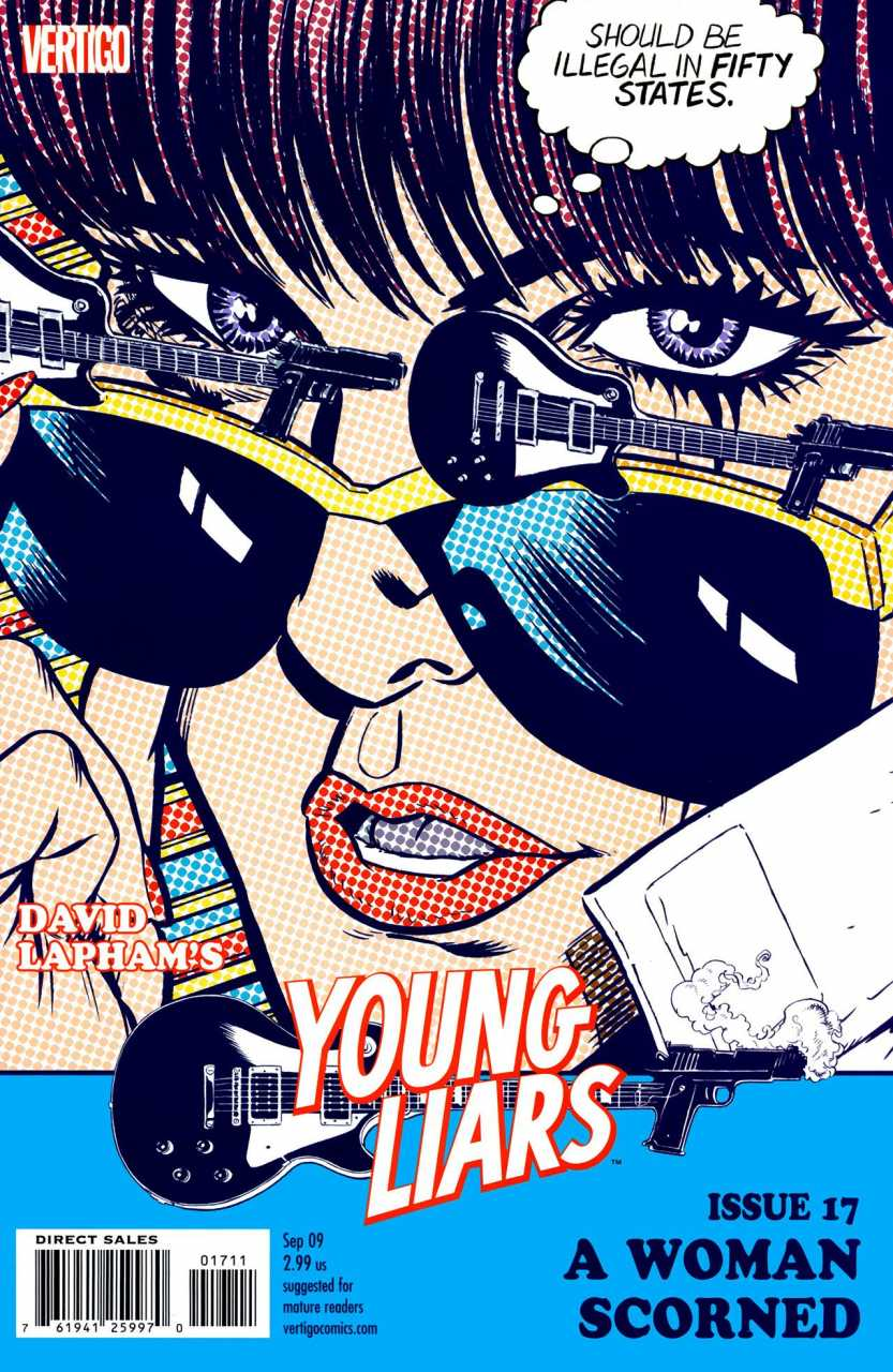 Young Liars (2008) no. 17 - Used