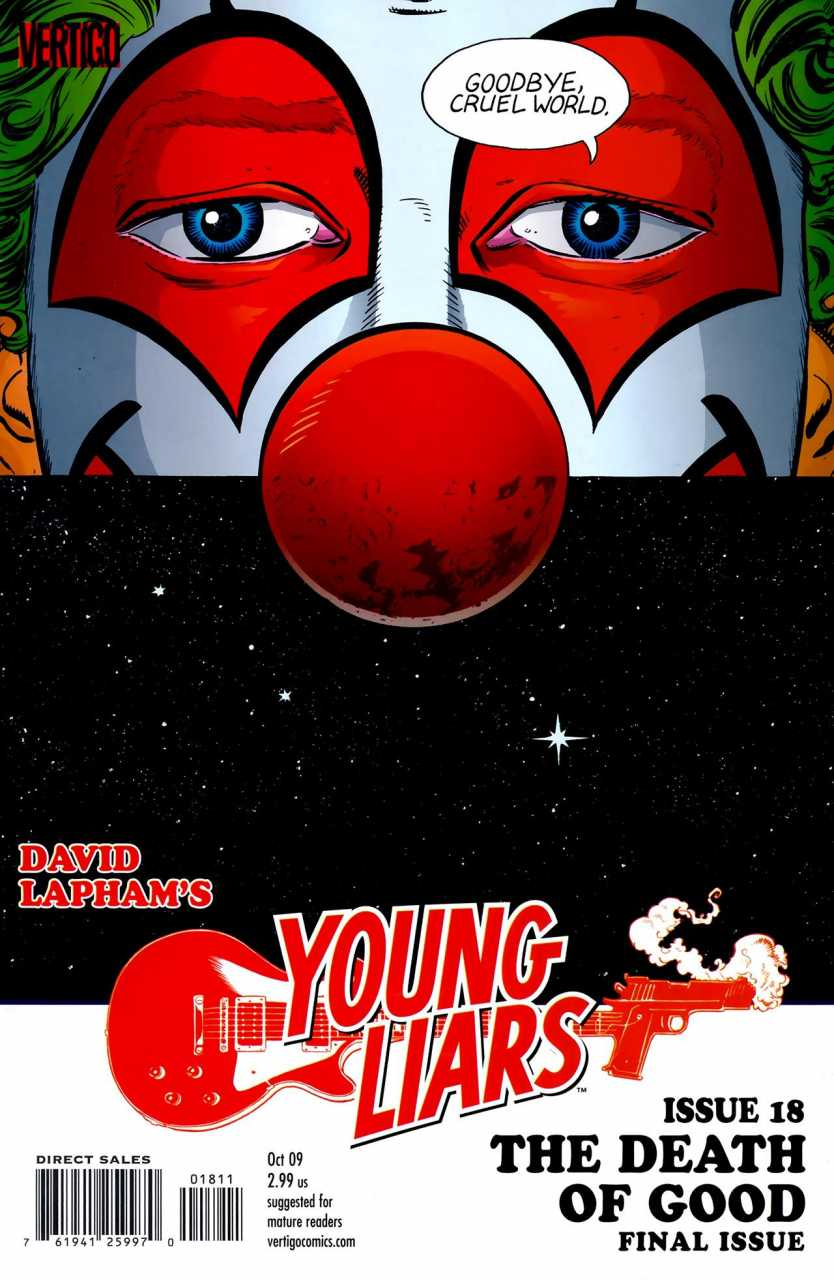 Young Liars (2008) no. 18 - Used