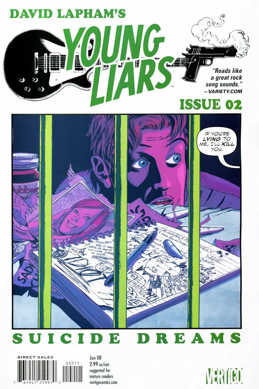 Young Liars (2008) no. 2 - Used
