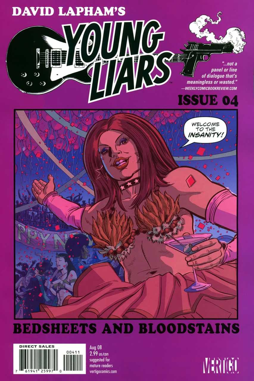 Young Liars (2008) no. 4 - Used