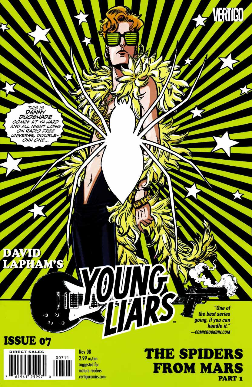Young Liars (2008) no. 7 - Used