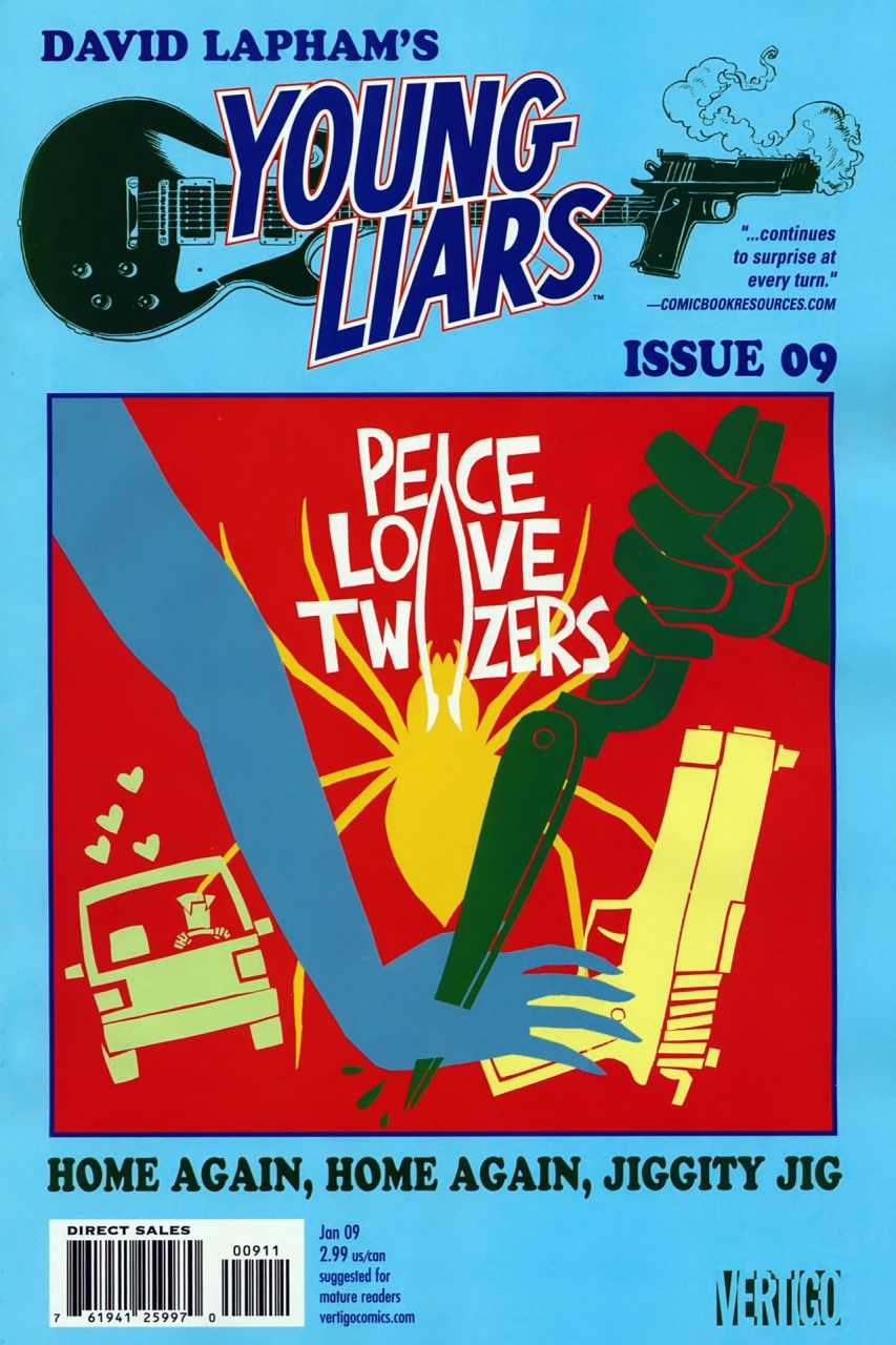 Young Liars (2008) no. 9 - Used
