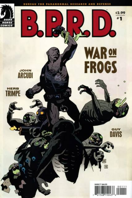 BPRD War on Frogs (2008) Complete Bundle - Used