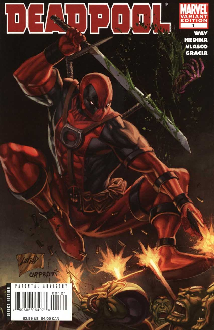Deadpool (2008) no. 1 (Rob Liefeld 1 in 25 Variant) - Used