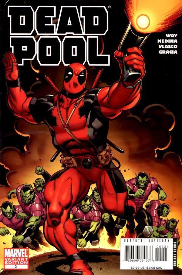 Deadpool (2008) no. 2 (McGuinness Variant) - Used