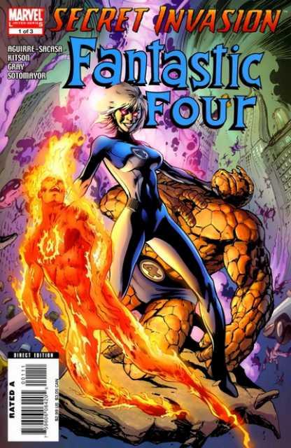 Fantastic Four Secret Invasion (2008) Complete Bundle - Used