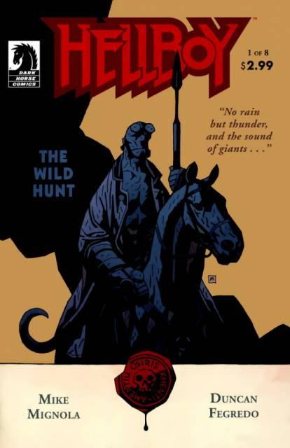 Hellboy The Wild Hunt (2008) Complete Bundle - Used