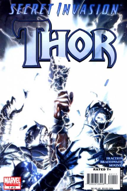 Thor Secret Invasion (2008) Complete Bundle - Used